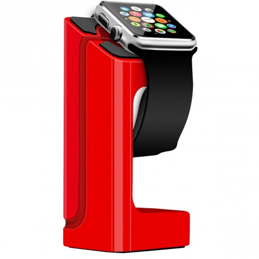 Desktop Charge Stand for Apple Watch 38mm & 42mm - Red
