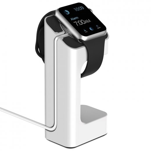 Desktop Charge Stand for Apple Watch 38mm & 42mm - White