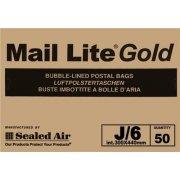J/6 (300 x 440mm) Mail Lite Gold Envelopes