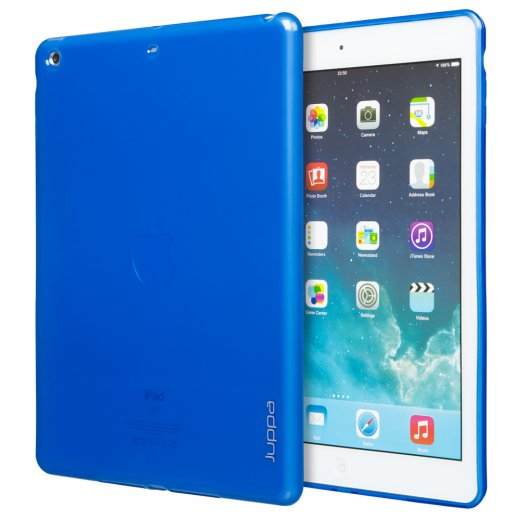 Juppa TPU Gel Case for Apple iPad Air 2 2014 Blue