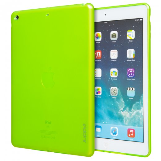 Juppa TPU Gel Case for Apple iPad Air 2 2014 Green