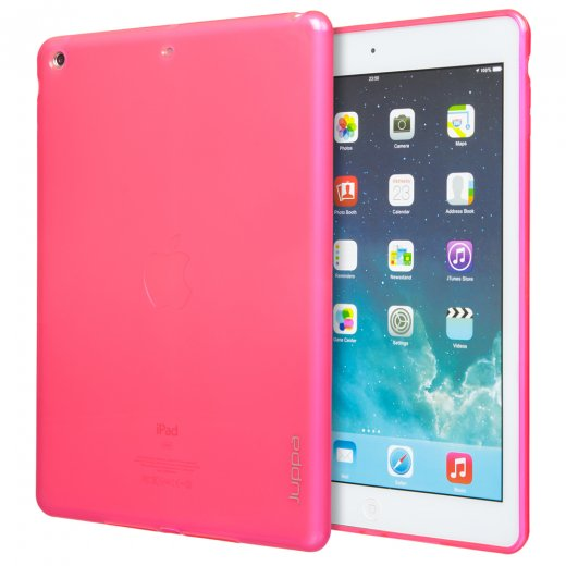 Juppa TPU Gel Case for Apple iPad Air 2 2014 Pink