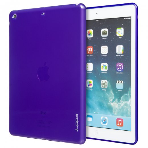 Juppa TPU Gel Case for Apple iPad Air 2 2014 Purple