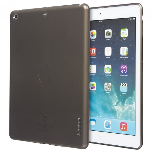 Juppa TPU Gel Case for Apple iPad Mini 2 and 3 Smoke