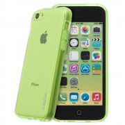 TPU Gel Case for Apple iPhone 5c Green