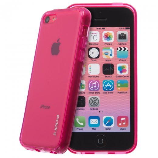 Juppa TPU Gel Case for Apple iPhone 5c Pink
