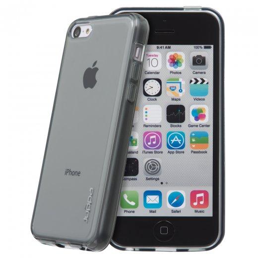Juppa TPU Gel Case for Apple iPhone 5c Smoke