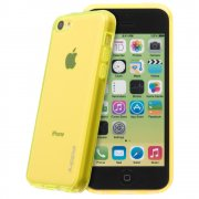 TPU Gel Case for Apple iPhone 5c Yellow