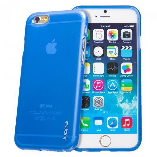 "Juppa TPU Gel Case for Apple iPhone 6 4.7"" Blue"