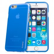 "TPU Gel Case for Apple iPhone 6 4.7"" Blue"