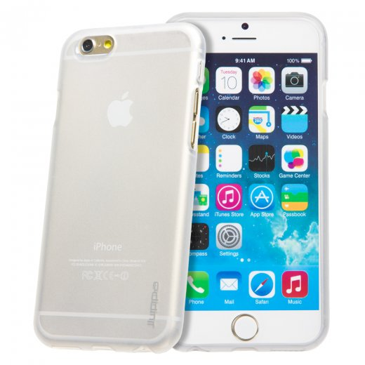 "Juppa TPU Gel Case for Apple iPhone 6 4.7"" Clear"