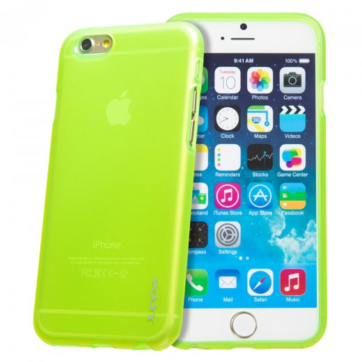 "Juppa TPU Gel Case for Apple iPhone 6 4.7"" Green"