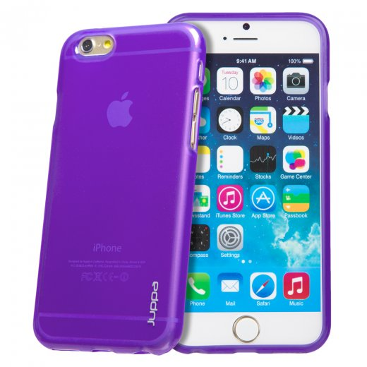 "Juppa TPU Gel Case for Apple iPhone 6 4.7"" Purple"