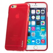 "TPU Gel Case for Apple iPhone 6 4.7"" Red"
