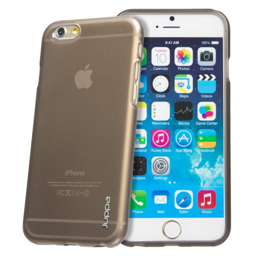 "Juppa TPU Gel Case for Apple iPhone 6 4.7"" Smoke"