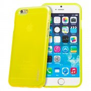 "TPU Gel Case for Apple iPhone 6 4.7"" Yellow"