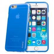 "TPU Gel Case for Apple iPhone 6 Plus 5.5"" Blue"