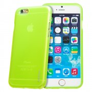 "TPU Gel Case for Apple iPhone 6 Plus 5.5"" Green"
