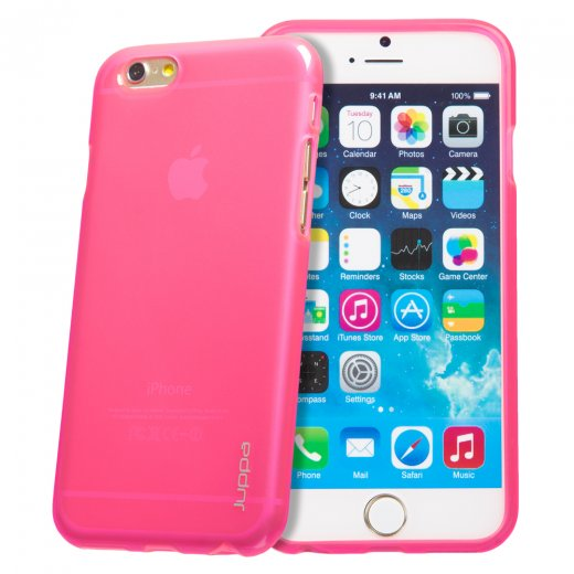 "Juppa TPU Gel Case for Apple iPhone 6 Plus 5.5"" Pink"
