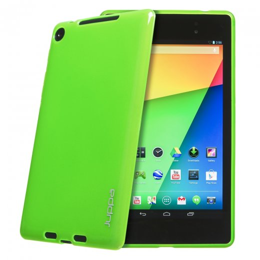 Juppa TPU Gel Case for Google Nexus 7 2nd Gen 2013 Green
