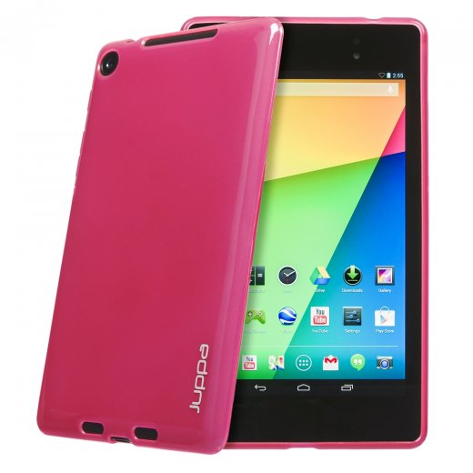 Juppa TPU Gel Case for Google Nexus 7 2nd Gen 2013 Pink