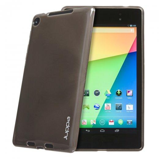 Juppa TPU Gel Case for Google Nexus 7 2nd Gen 2013 Smoke