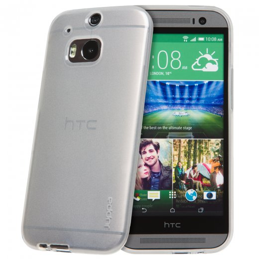 "Juppa TPU Gel Case for HTC One M8 5.0"" Clear"