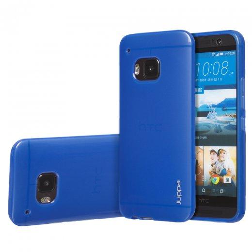 """Juppa TPU Gel Case for HTC One M9 5.0"""" Blue"""