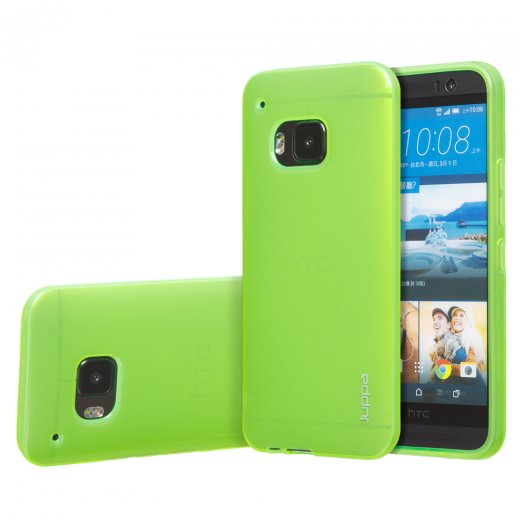 "Juppa TPU Gel Case for HTC One M9 5.0"" Green"