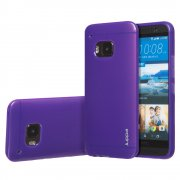 "TPU Gel Case for HTC One M9 5.0"" Purple"