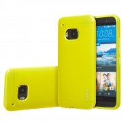 "TPU Gel Case for HTC One M9 5.0"" Yellow"