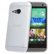 TPU Gel Case for HTC One Mini 2 Clear