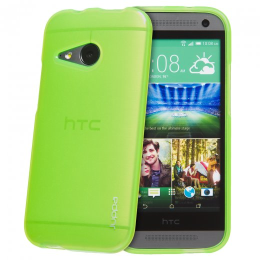 Juppa TPU Gel Case for HTC One Mini 2 Green