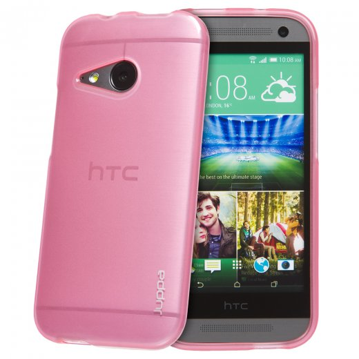 Juppa TPU Gel Case for HTC One Mini 2 Pink