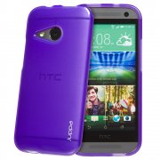 TPU Gel Case for HTC One Mini 2 Purple