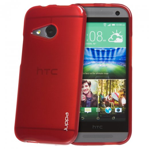 Juppa TPU Gel Case for HTC One Mini 2 Red