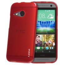 TPU Gel Case for HTC One Mini 2 Red