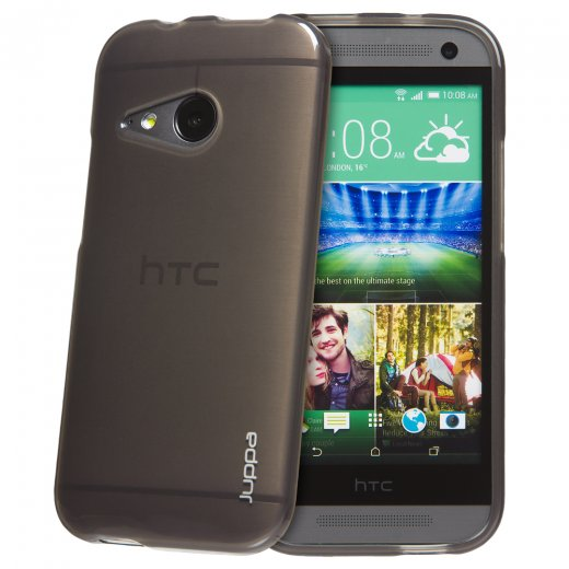Juppa TPU Gel Case for HTC One Mini 2 Smoke