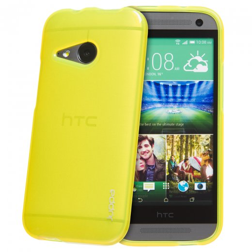 Juppa TPU Gel Case for HTC One Mini 2 Yellow