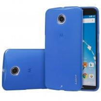 TPU Gel Case for Motorola Google Nexus 6 Blue