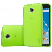 TPU Gel Case for Motorola Google Nexus 6 Green