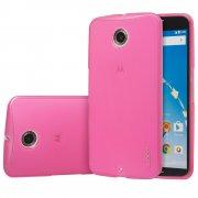 TPU Gel Case for Motorola Google Nexus 6 Pink