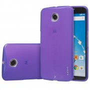 TPU Gel Case for Motorola Google Nexus 6 Purple