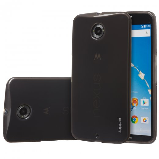 Juppa TPU Gel Case for Motorola Google Nexus 6 Smoke