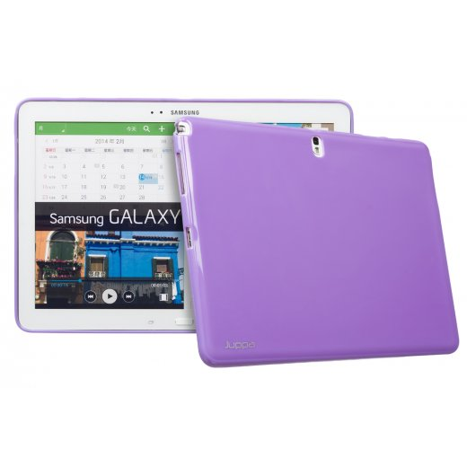 Juppa TPU Gel Case for Samsung Galaxy Note Pro 12.2 Purple