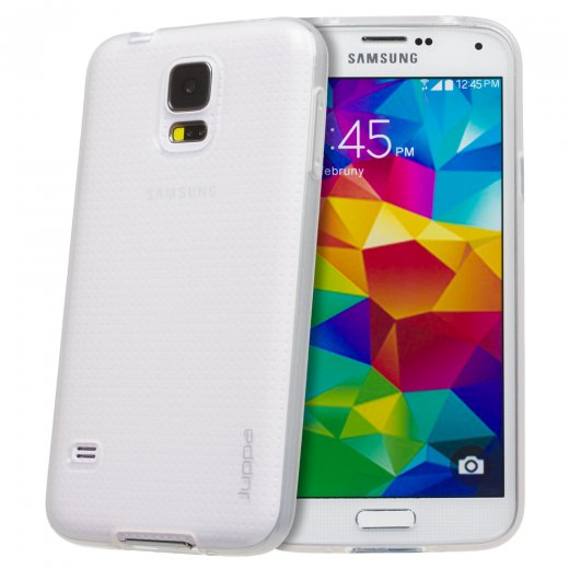 Juppa TPU Gel Case for Samsung Galaxy S5 Clear