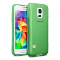 TPU Gel Case for Samsung Galaxy S5 Mini Green