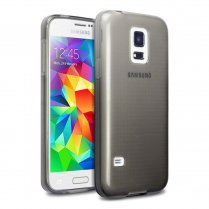 TPU Gel Case for Samsung Galaxy S5 Mini Smoke
