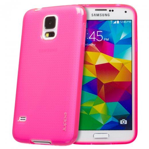 Juppa TPU Gel Case for Samsung Galaxy S5 Pink