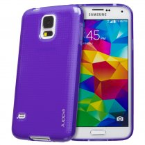 TPU Gel Case for Samsung Galaxy S5 Purple